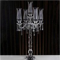 Кристалл подсвечник, держатель свечей 50 см х 100 см