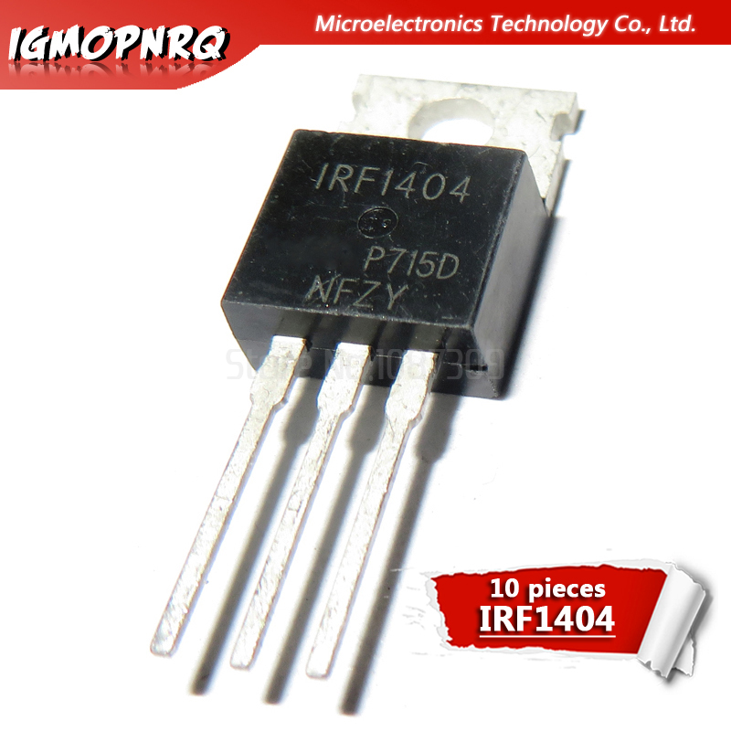 10PCS IRF1404 IRF1405 IRF1407 IRF2807 IRF3710 LM317T IRF3205 Transistor TO-220 TO220 IRF1404PBF IRF1405PBF IRF1407PBF IRF3205PBF
