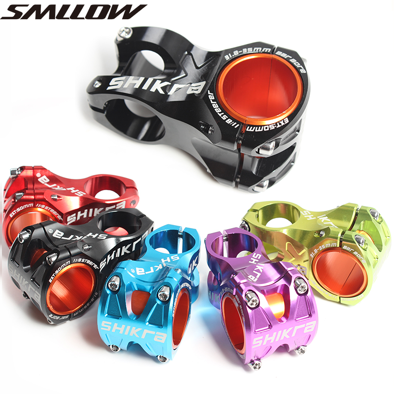 SMLLOW Degree Rise DH AM Enduro 28 6mm Stem Bicycle 50mm MTB Stem Aluminum Alloy CNC For 35mm 31 8mm Handlebar in Bicycle Stem from Sports Entertainment