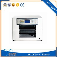 New A3 Uv Flat Inkjet Printer Machine In Candle Ceramic Tile Acylic With Embossed Effect