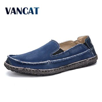 Men Casual Canvas Shoes Big Size 39-47 Canvas Shoes