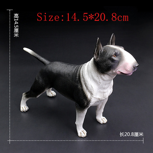 Image 2 - DDWE الثور جحر كلب كلب السلوقي محاكاة نماذج للحيوانات الأليفة الديكور الفتوة pitbull عمل لعبة الشكل للأطفال هدية