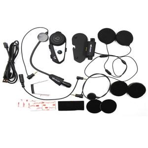 Image 5 - Inglese Versione del Casco Auricolare Bluetooth Moto Vimoto V6 Multi funzionale Cuffie Stereo Per Il Telefono Cellulare e GPS Radio