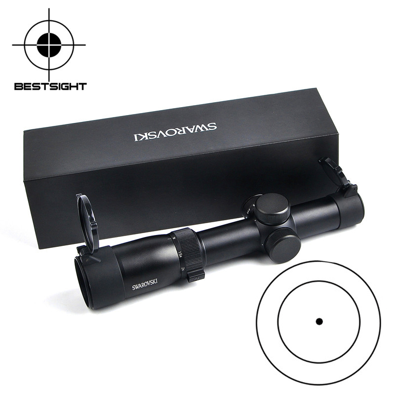 Swarovskl 1-6x24IRZ3 F101 Tactical Optic Riflescope Circle Dot Punctuate Optic Sight Glass Reticle Rifle Scope For Hunting