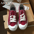 AREQW 2016 summer new fashion joker white canvas shoes female han edition casual shoes cloth shoes