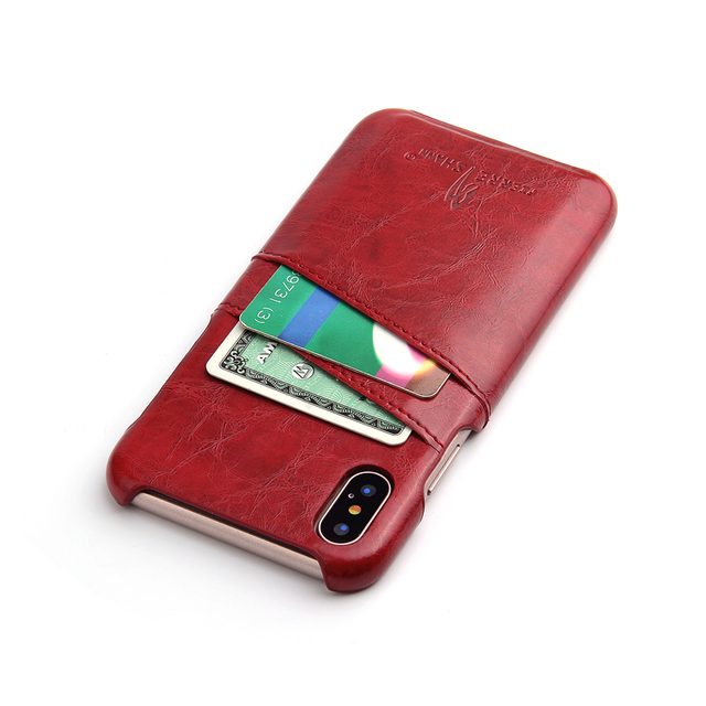 Ascromy for iphone x case business credit card holder pu leather ascromy for iphone x case business credit card holder pu leather case cover for iphone 8 reheart Image collections