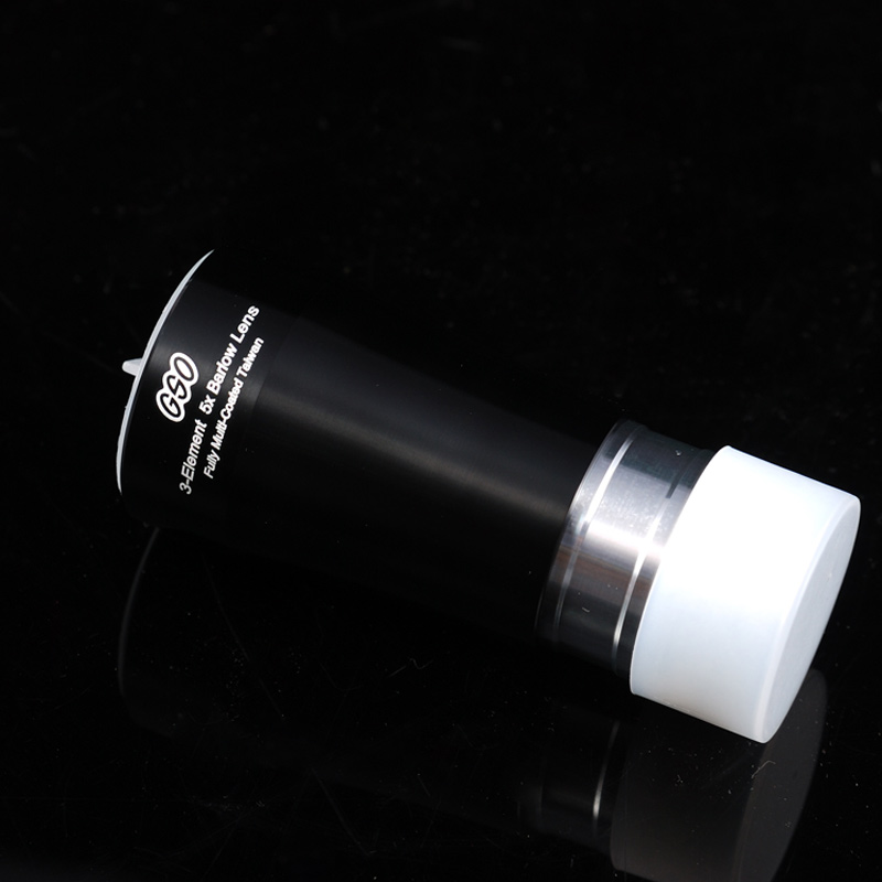 GSO 1.25 inch 3-Element 5 X Barlow lens gso 1 25 3 element 2 5x barlow lens