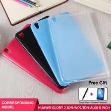 SZOXBY For Huawei Glory Flat 2 8 Inch Protective Cover JDN-W09 JDN-AL00 TPU Shell Silicone Sleeve Shockproof Anti-Fall Shell