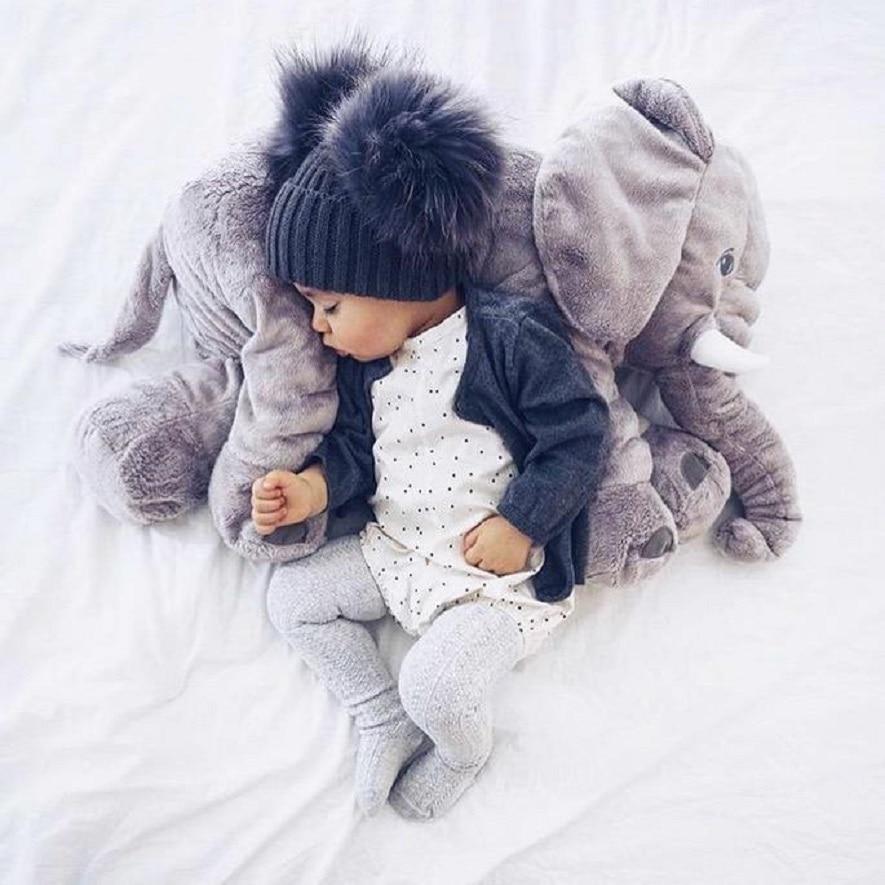 Baby Elephant Plush Stuffed Toy Soft ChildrenS Elephant Pillow Baby Photograph Toys Kids Bed Car Seat Cushion peluche elephant