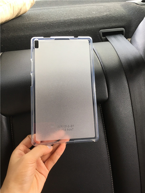 Tab 4 8 plus TB-<font><b>8704</b></font> silicone case, for <font><b>Lenovo</b></font> TAB4 8 plus TB-8704F TB-8704N TB-8704X tablet Case clear soft tpu back cover case image
