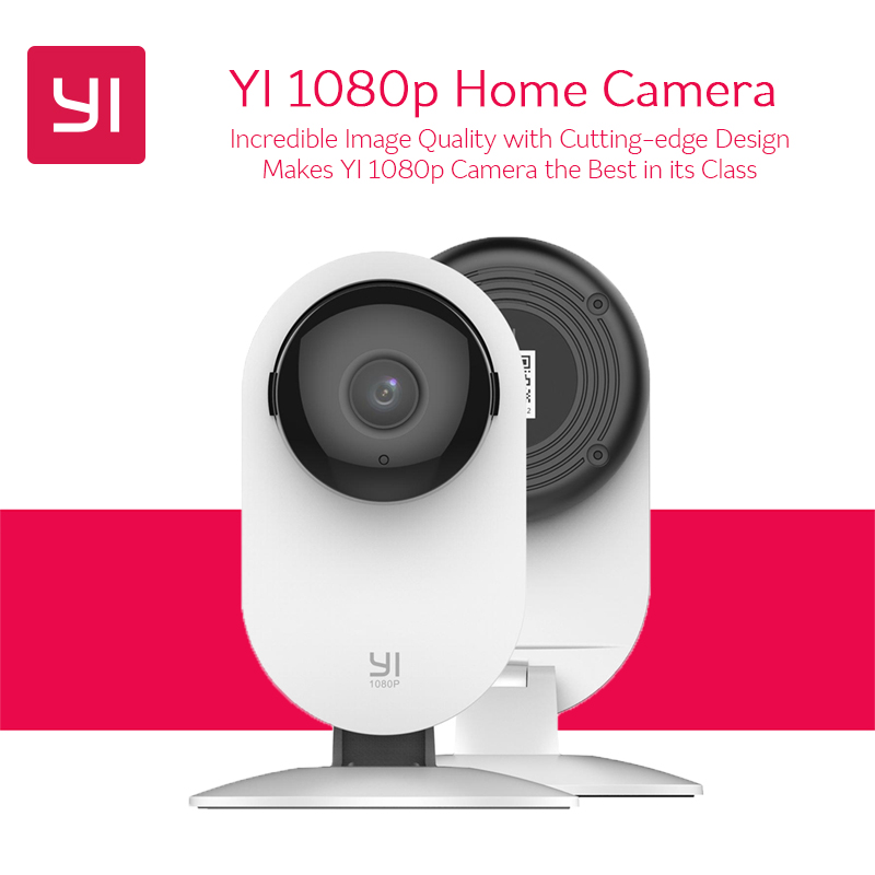 Global Version YI 1080p Home Camera Indoor IP Security Surveillance System Night Vision for Home/Office/Baby/Nanny/Pet Monitor