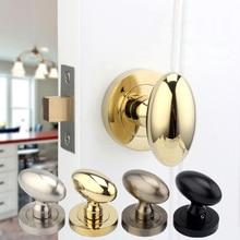 4 colors Hidden Door Locks Stainless Steel Handle Recessed Cabinet Invisible Pull lock door hardware