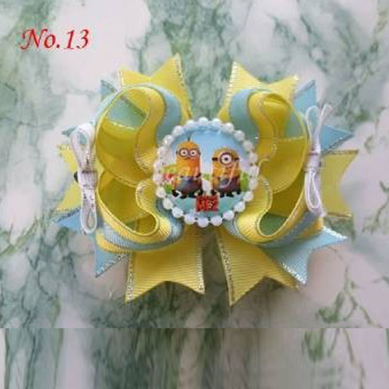 FREE SHIPPING 30PC BLESSING Good Girl Boutique Modern Style Dance Hair Bowunicorn Sculpture Princess Character Angel Wing
