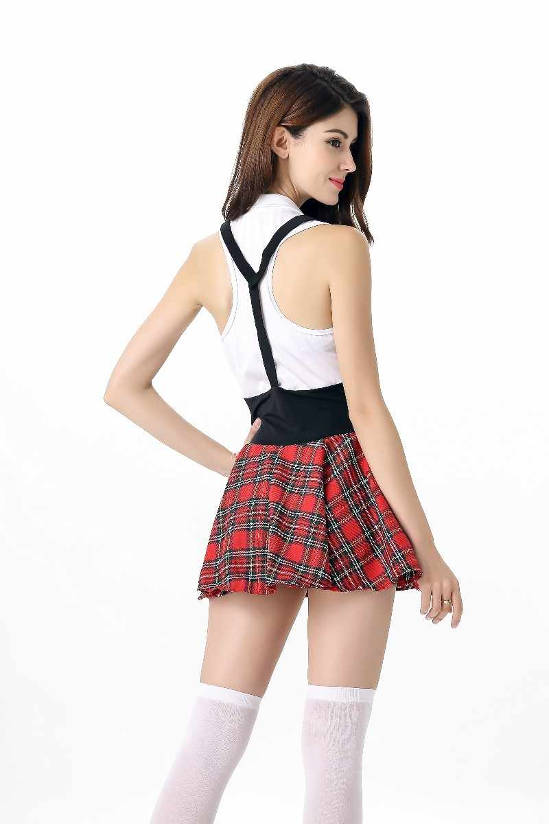 fb3741945 ... New Sexy Women Cosplay Schoolgirl Costumes Japanese Student Uniforms  Temptation Dress Fashion Sweet ShoolGirl Suit ...