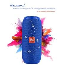 TG117 Portable Waterproof Bluetooth Speaker Wireless Loud Speaker Soundbar Subwoofer Outdoor Support FM TF MP3 Built-in Mic недорого
