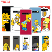Homer J. Simpson Fashion Silicome Phone Case For Samsung Galaxy S10 S6 S7 Edge S8 S9 Plus S10E Note 8 9 Gift Customized Cases