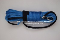Blue 10mm*30m Off Road Rope,ATV Winch Cable,Synthetic Winch Cable,Plasma Winch Rope 10mm,Boat Winch Rope