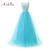 Artsu 2017 frauen tutu dress spitze ballkleid prinzessin dress sleeveless three schicht auze party kleider 3 farben vestidos asdr100119