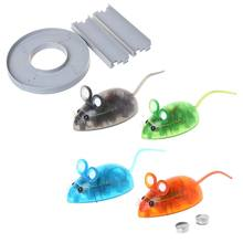 Funny Nano Colorful Electronic Pet Toys Robotic Rat Children Kids Christmas Gift N21_F(China)
