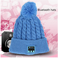 Bluetooth Warm Beanie Knitted Winter Hat Headset Hands-free Magic Mic Speaker Sports Hats For Boy Girl Music Cap Amp WM3