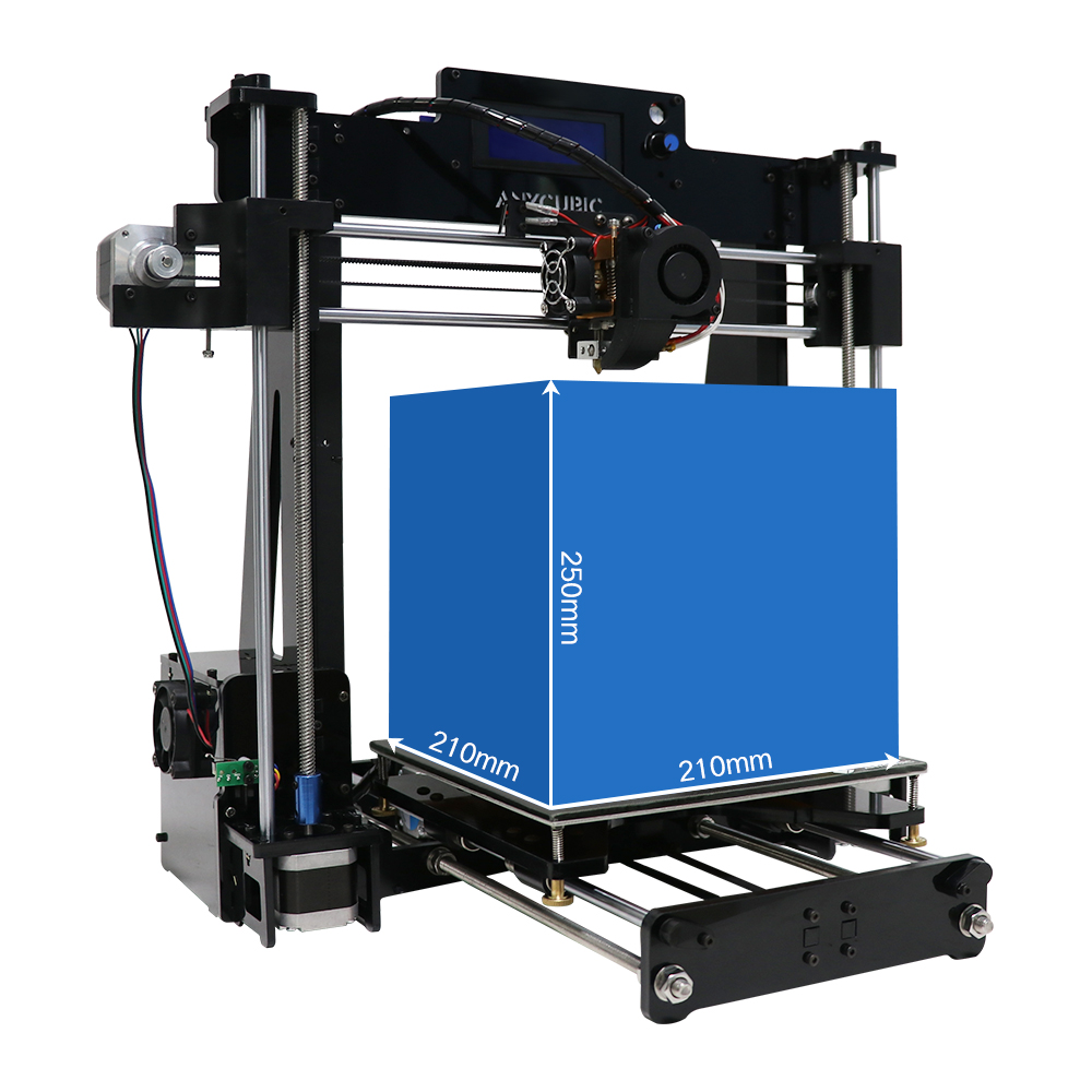 Anycubic 3D printer impresora 3d Newest Upgrade imprimante 3d Prusa i3 3d printer Kit High Precision Ultrabase Platfrom (22)