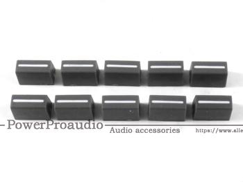 20 sztuk partii kanał crossfadera Fader Cap pokrętło do RANE 56 RANE TTM56 TTM 56 s (szary) tanie i dobre opinie PowerProaudio