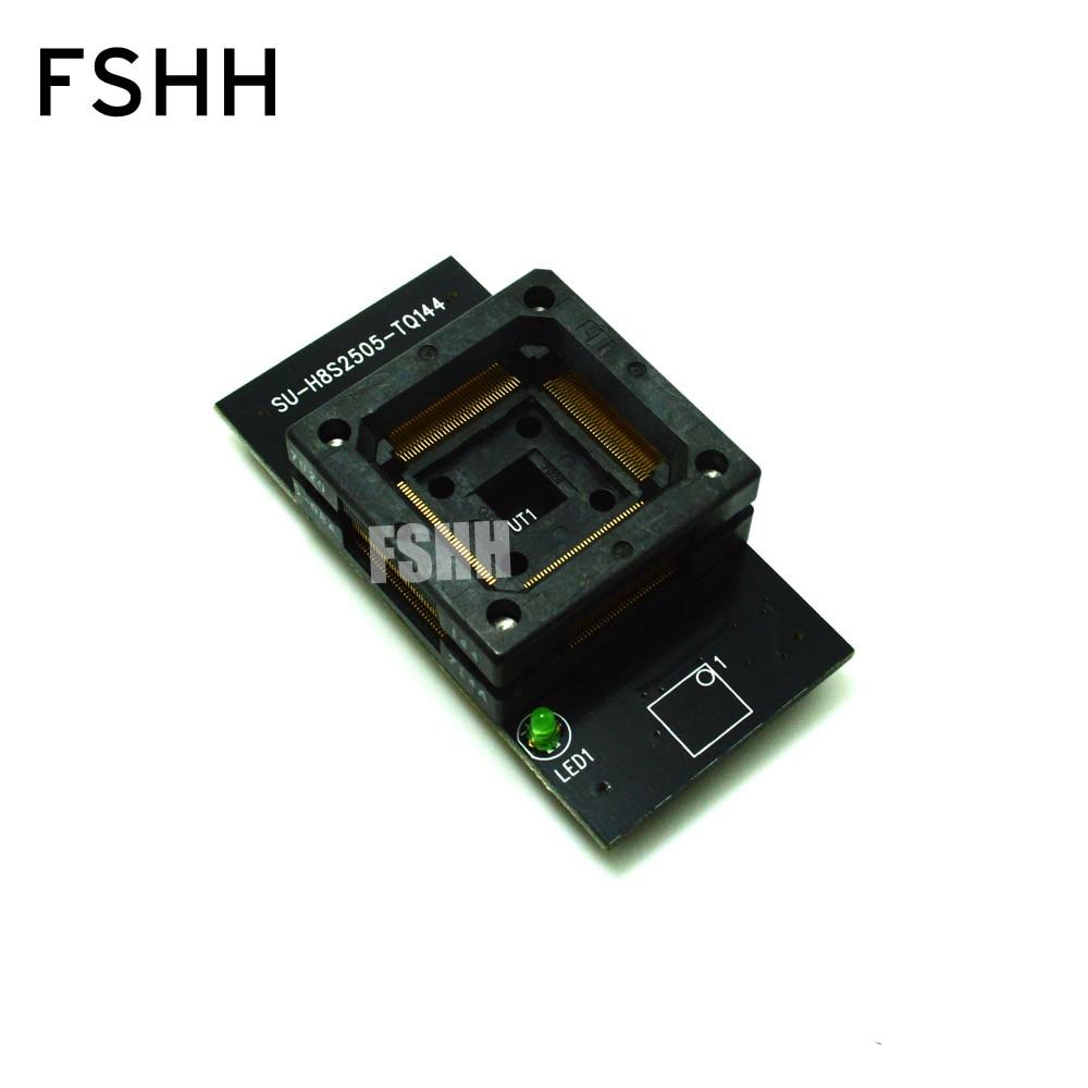 SU-H8S2505-TQ144 Programmer Adapter Module TQP144 QFP144 LQFP144 For LP Programmer Adapter Socket