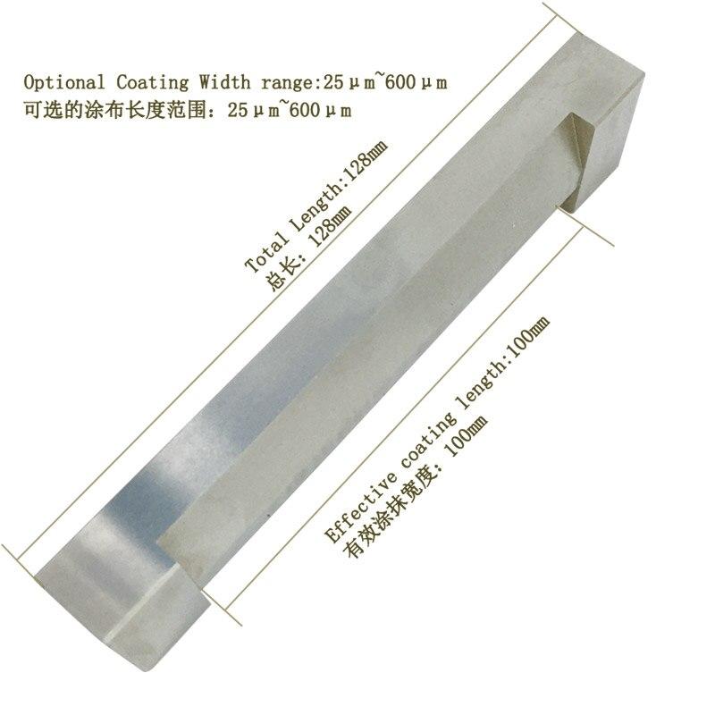 25-600um Range Stainless Steel Single Wet Membrane Preparation Device For Paints