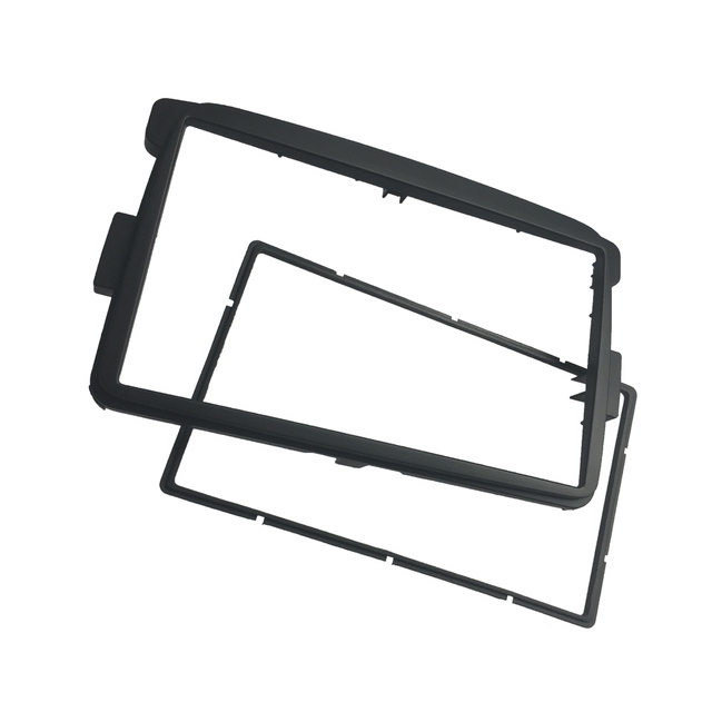 2 Din Radio Fascia for Renault Duster Logan Sandero Dacia Dokker Lodgy DVD CD Dash Trim Installation Frame Mount
