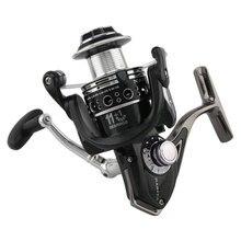 цена на Carp Fishing Reel Spinning Reels Metal Spool Pesca 11+1BB Crretilha Baitcasting Stainless steel Shaft Rear Drag Wheel