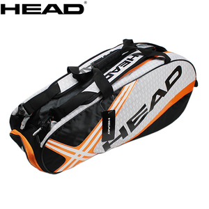 Head Tennis Bag Men Tennis Racket Bag Raquete De Tenis Backup Large Tennis Racquets Bag Tennis Backpack 3-6 Racquets Backpack