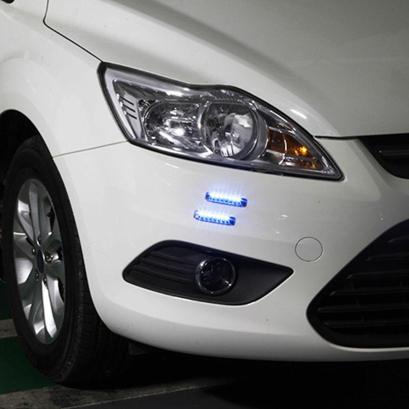 Anti Collision Atmosphere Light Car Door Lights Solar LED Flashing Warning Lamp