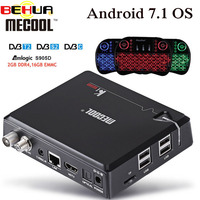 MECOOL KI PRO DVB Android 7.1 smart TV Box DVB T2/DVB S2/DVB C Amlogic S905D Quad 2GB+16GB Set Top Box K1 PRO PK KII PRO boxes