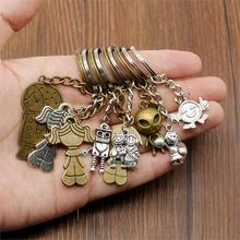 2019 New Couple Keychain Car Metal Pendant Keyholder People keychain Handmade Gift For Phone Boyfriend
