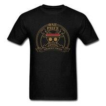 цены на Punk Skull Logo T-shirt Luffy One Piece Tshirt Heavy Metal Tops Tees Japan Zen Luffy Pirate King T Shirt Novelty Male Clothes XL в интернет-магазинах
