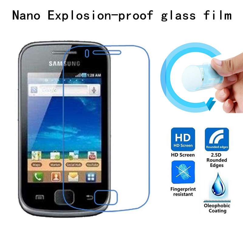 Nano Explosion-proof Soft Glass Protective Film Screen Protector for Samsung Galaxy Gio S5660 i569