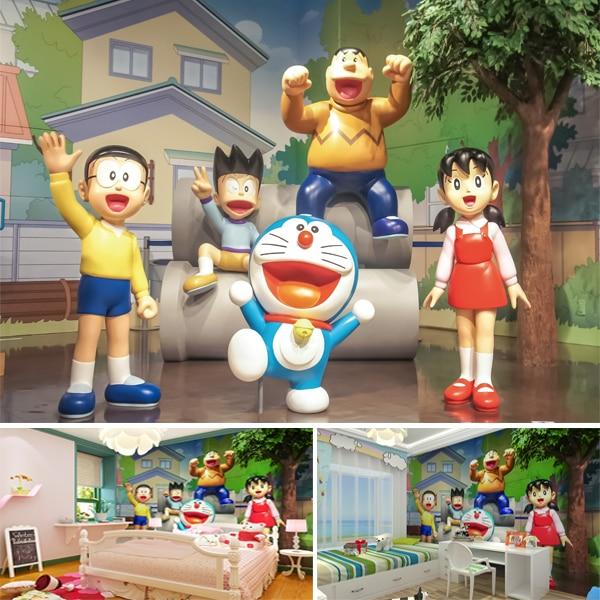 Anime doraemon duo la a dream 3 d cartoon wallpaper decorating anime doraemon duo la a dream 3 d cartoon wallpaper decorating children room background wall paper voltagebd Images