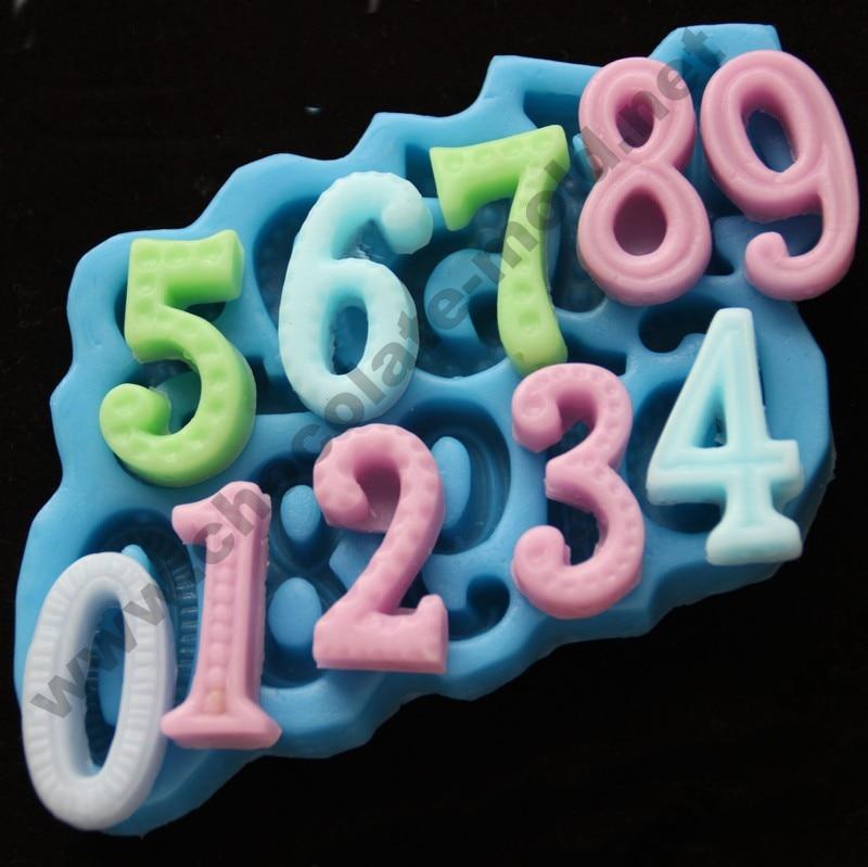 ədədi Şokolad qəlibləri Number Cake qəlib şam kalıp - Mətbəx, yemək otağı və barı - Fotoqrafiya 1