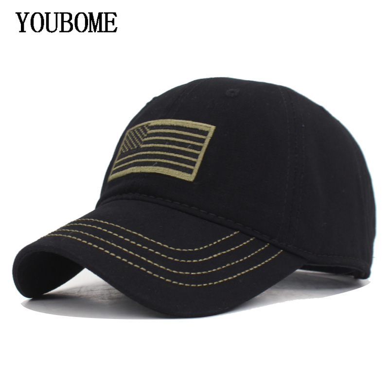 YOUBOME   Baseball     Cap   Hats For Men Camouflage Brand Army Snapback   Caps   Women MaLe Vintage US Flag Casquette Bone Dad Hat   Caps