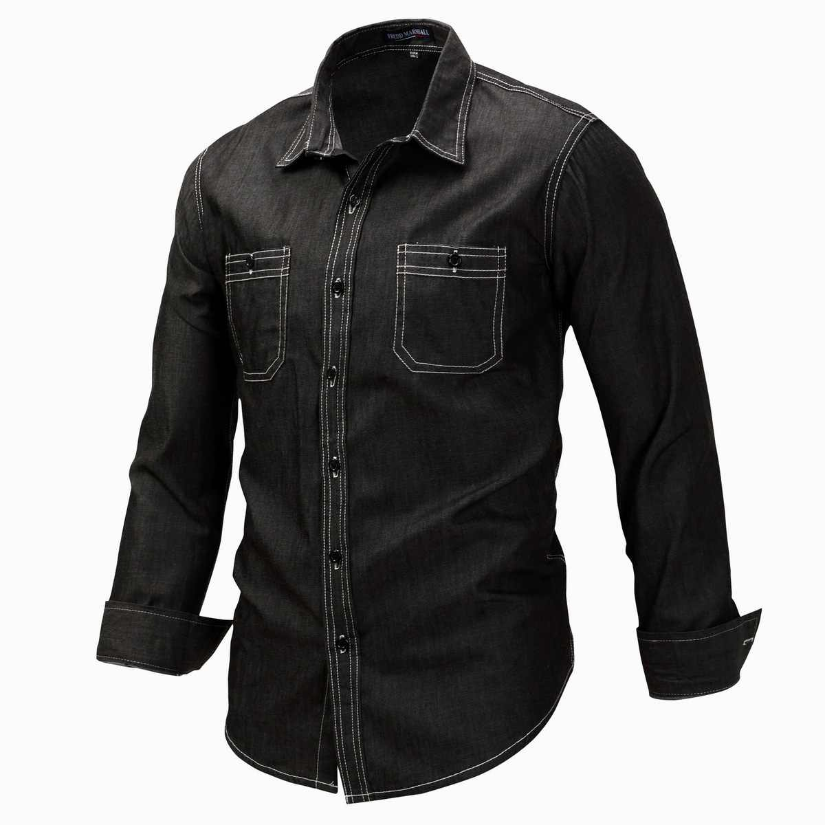 Демисезонный мужской открытый восхождение обучение верховой езде Армия Тактический рубашка Большой Размеры Для мужчин с длинными рукавами с лацканами кардиган джинсовые рубашки