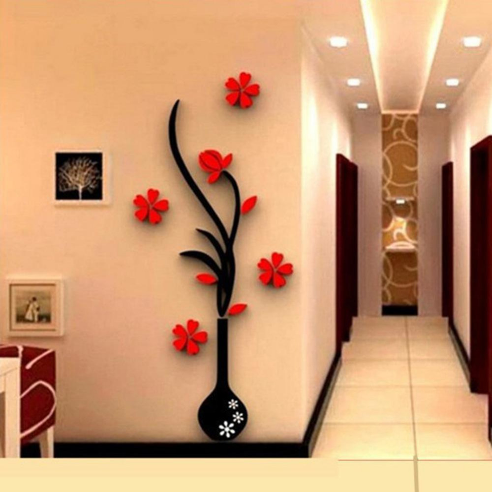Wall Decor 3d online buy wholesale crystal wall decor from china crystal wall