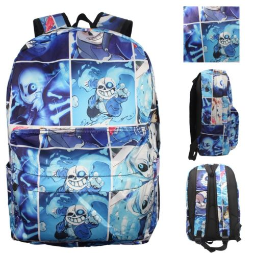 Hot Game Undertale Sans Papyrus Backpack Printing Backpack Leisure Daily Notebook Backpack Knapsack Travel Student School Bag