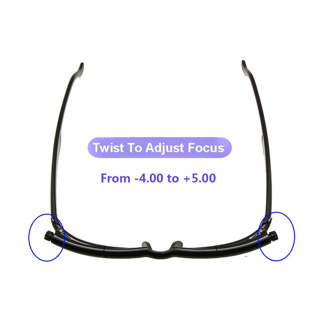 146317159de6 placeholder Adlens Focus Adjustable Reading Glasses Myopia Eyeglasses -6D  to +5D Diopters Magnifying Variable Strength