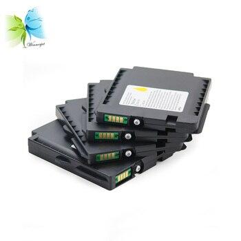 5 sets GC31 cartucho de tinta Compatible con tinta de sublimación para Ricoh GXE2600 3300 3300N 3350 3350N 5550 5550N 7700 7700N impresora