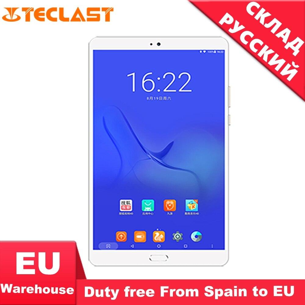 Teclast T8 8.4 polegada Android 7.0 Núcleo Hexa 64 4G + G Android Tablet pc WiFi Bluetooth Tablets планшет de Reconhecimento de Impressão Digital