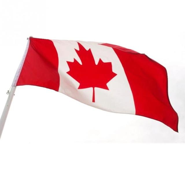 New 3ft x 5ft Canadian Flag Canada Maple Leaf Banner Polyester ...