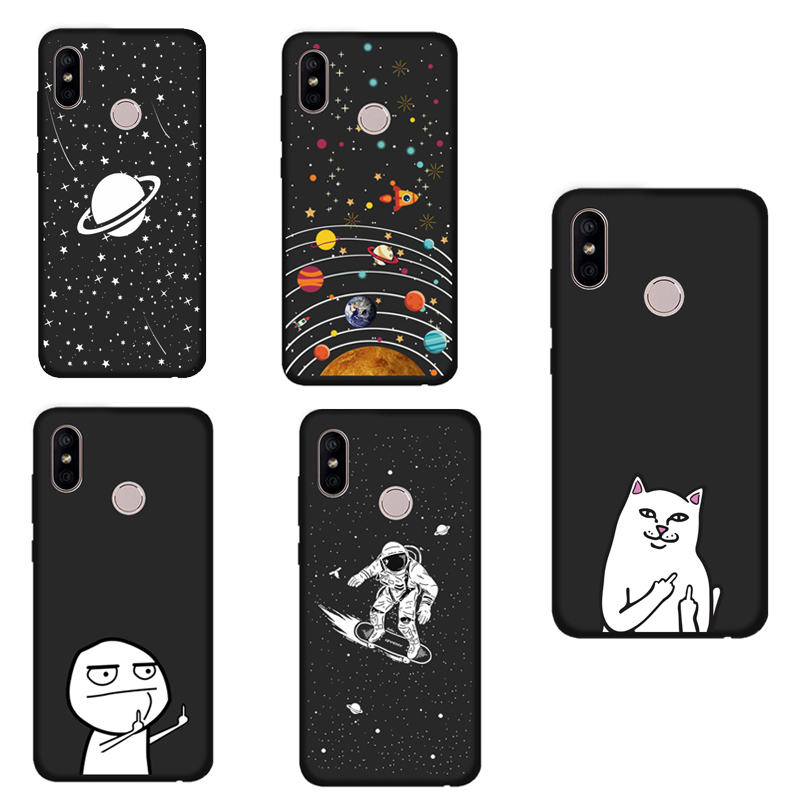 Good Izyeky Case For Xiaomi Mi A2 Lite Case For Mi A2 Lite Starry Sky Moon Soft Cover For Xiaomi Mi A2 Lite Case For Mia2 Lite Half-wrapped Case Cellphones & Telecommunications