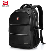 BALANG Multifunct Fashionable Business Men Laptop Backpacks 15 6 Inch Durable College School Backpack Bags For