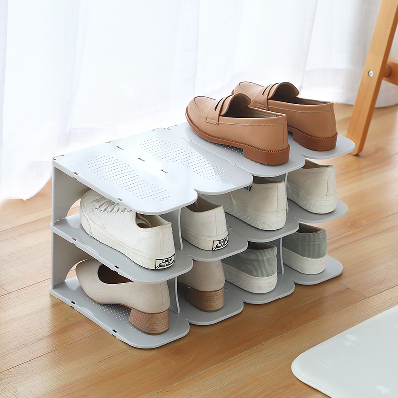 Multilayers Shoe storage Rack Household Assembled Shoe Organizer Home Decor Shoes Slipper Finishing 6 layers Shoes Storage Shelf