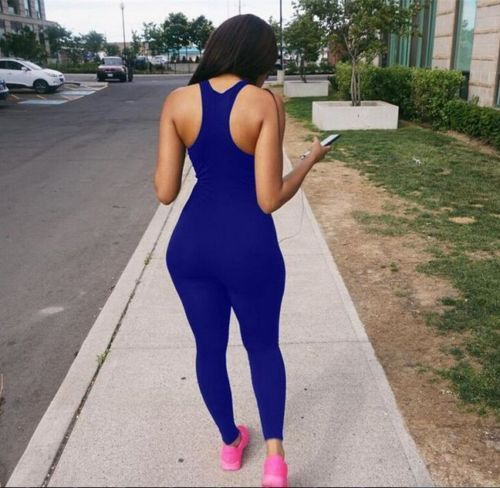 2017 Sexy Women Ladies Clubwear Sleeveless Bodysuits Playsuit Bodycon Slim Party Jumpsuit Trousers